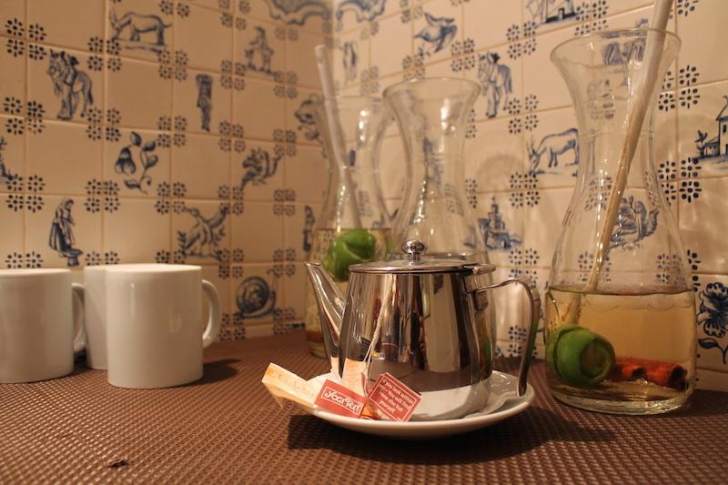 Lisbona bevande e tisane del restaurante Terra