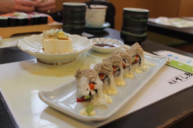 Mangiare vegetariano a Tokyo 2